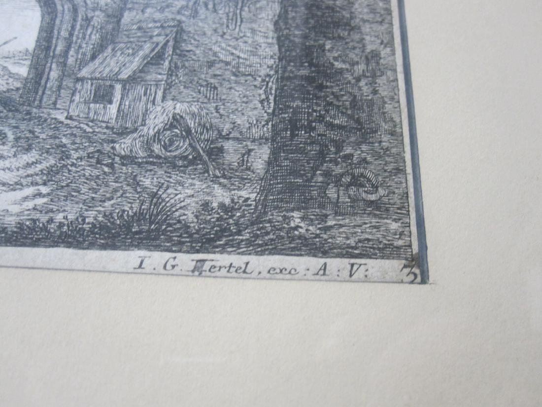 Two Wairotter Engravings - 7