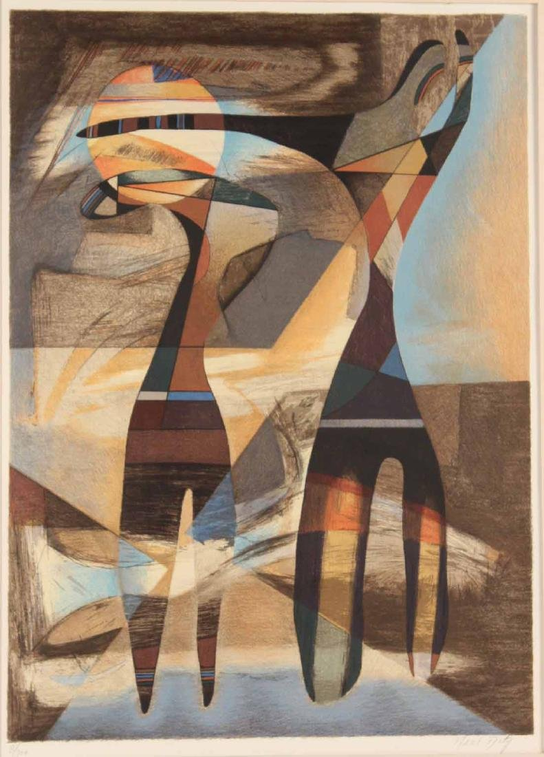 Abstract Print, Neal Doty - 2