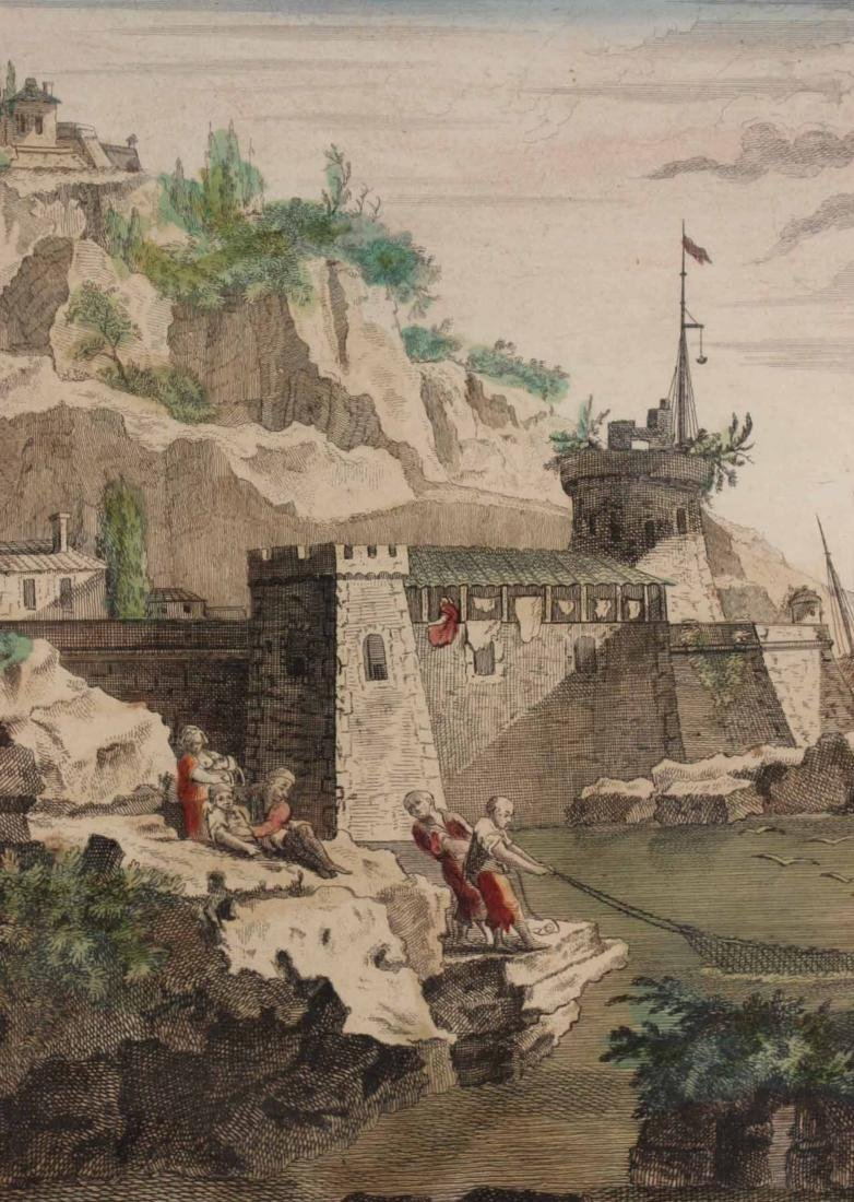 Hand-Colored Engraving, Naval Battle - 5