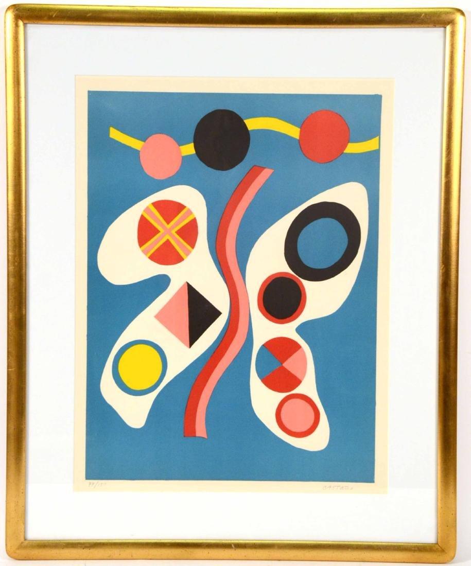 Serigraph, Abstract Jorge Perez Castano