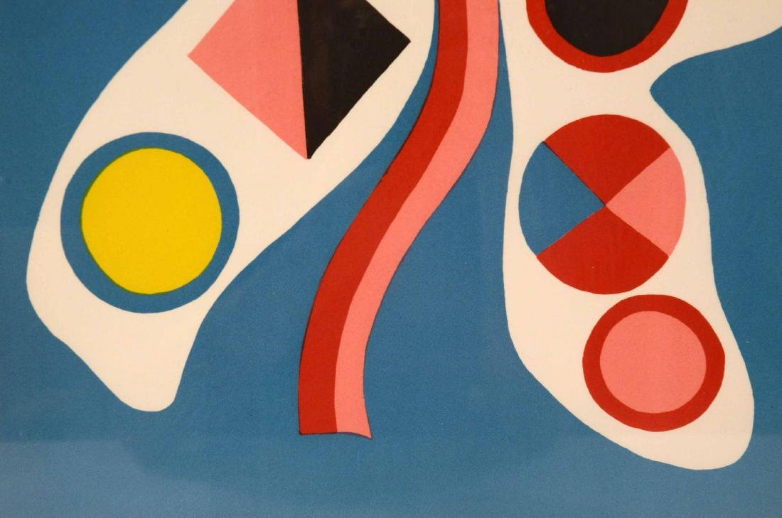 Serigraph, Abstract Jorge Perez Castano - 5