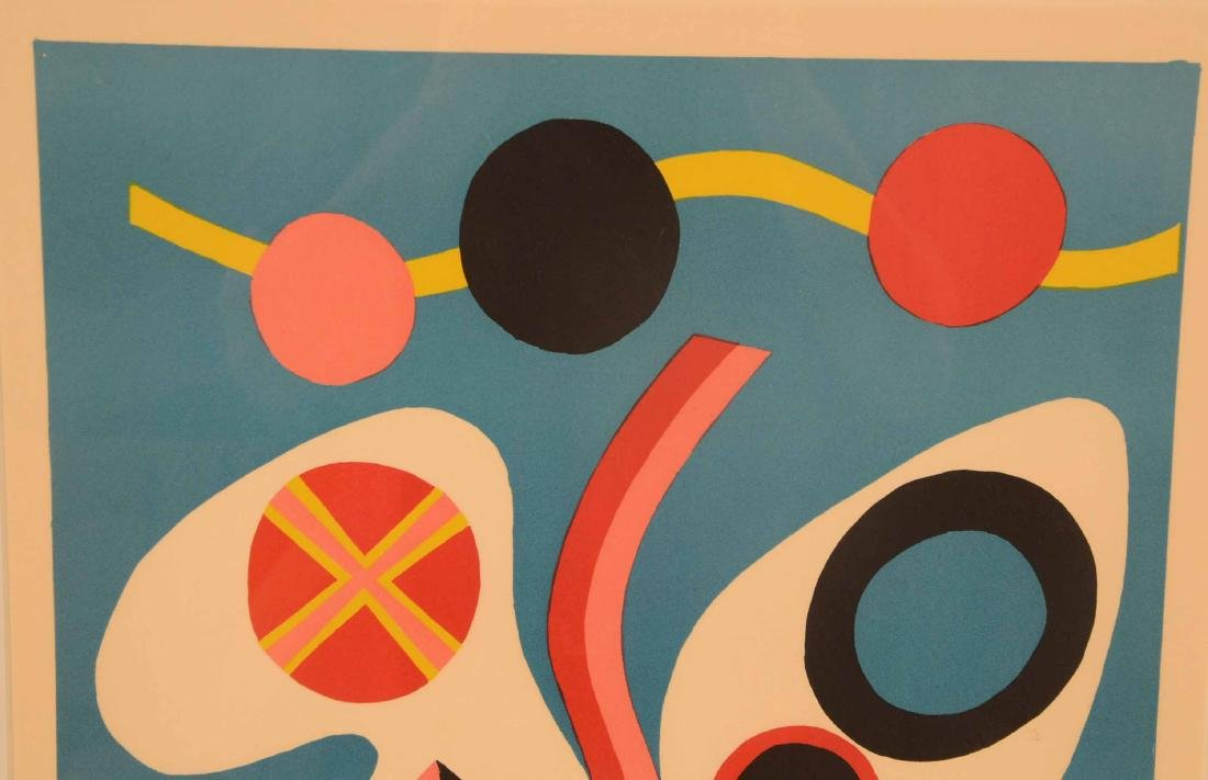 Serigraph, Abstract Jorge Perez Castano - 6