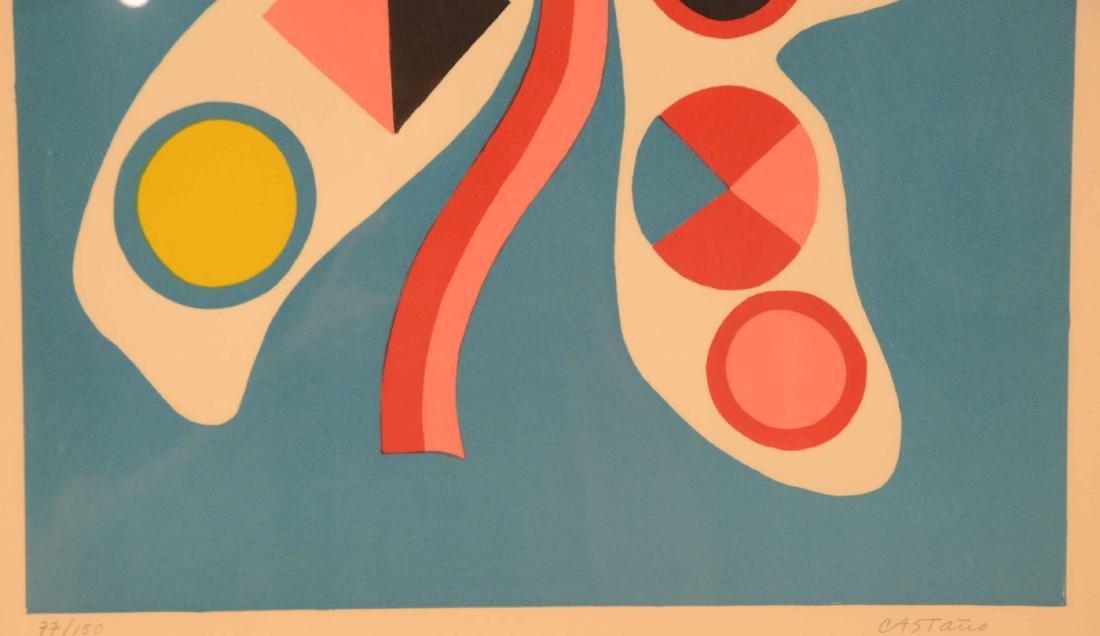 Serigraph, Abstract Jorge Perez Castano - 7