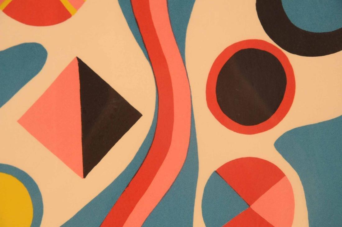 Serigraph, Abstract Jorge Perez Castano - 8