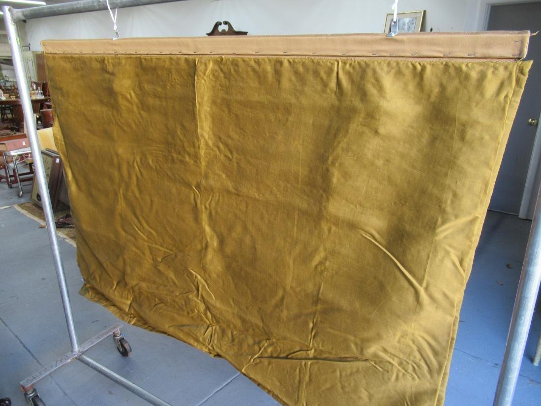 Indian Beaded Needlework on Silk Wall Hanging - 4