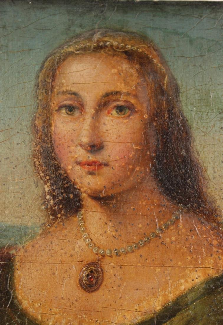 Oil on Board, Portrait of a Lady - 2