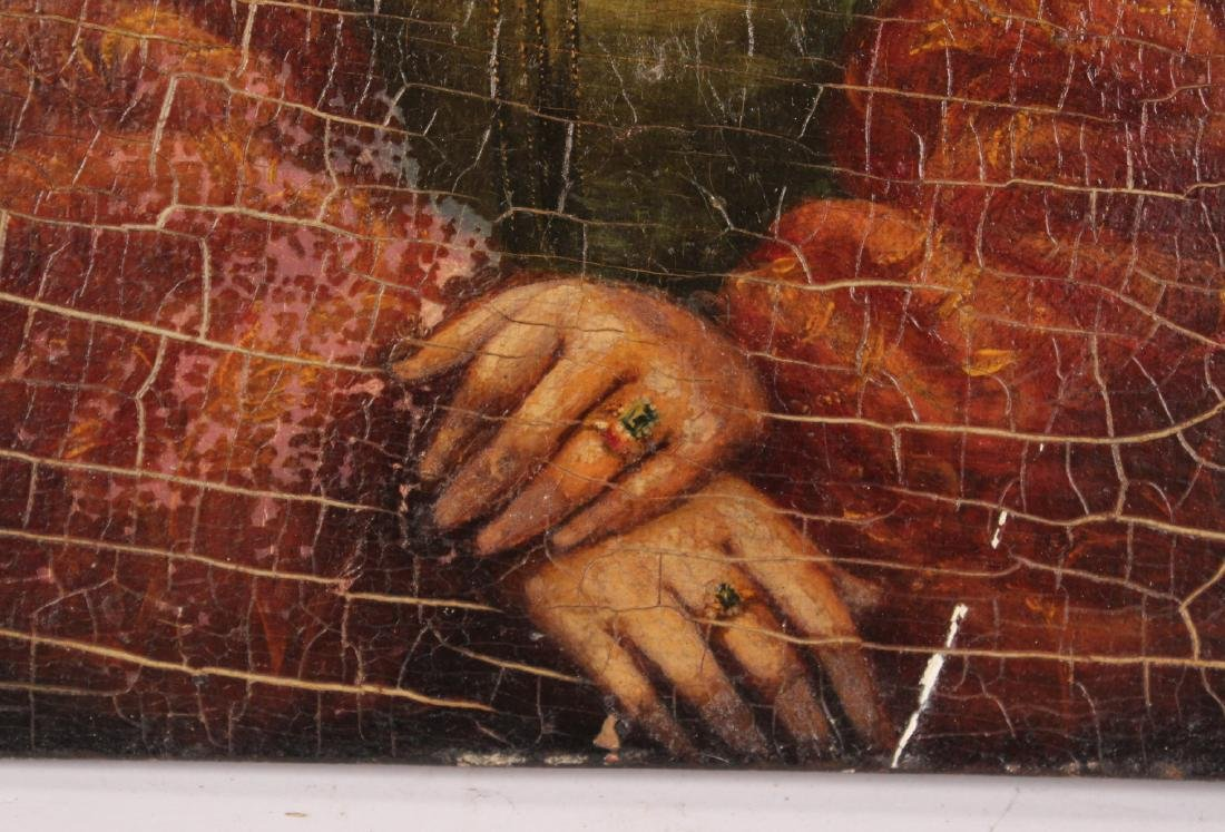 Oil on Board, Portrait of a Lady - 3
