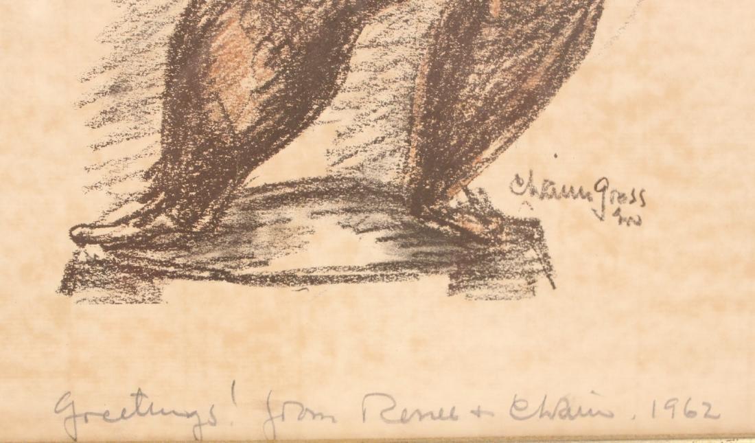 Print, Figures, Chaim Gross - 3
