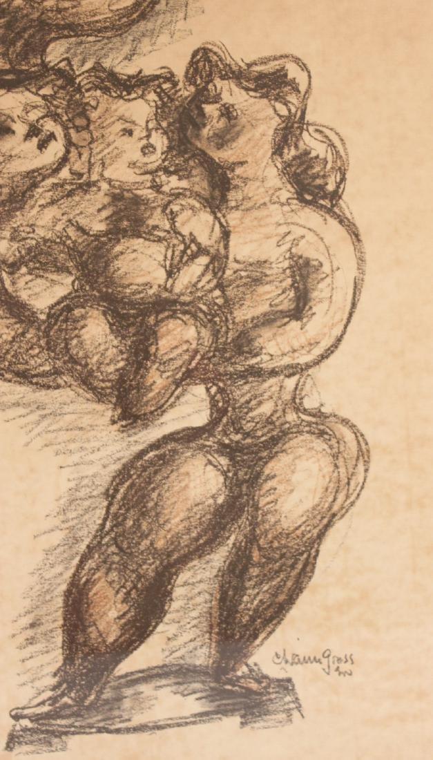 Print, Figures, Chaim Gross - 6