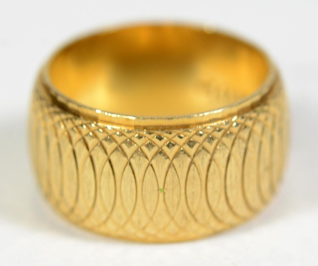 14K Yellow Gold Band Ring