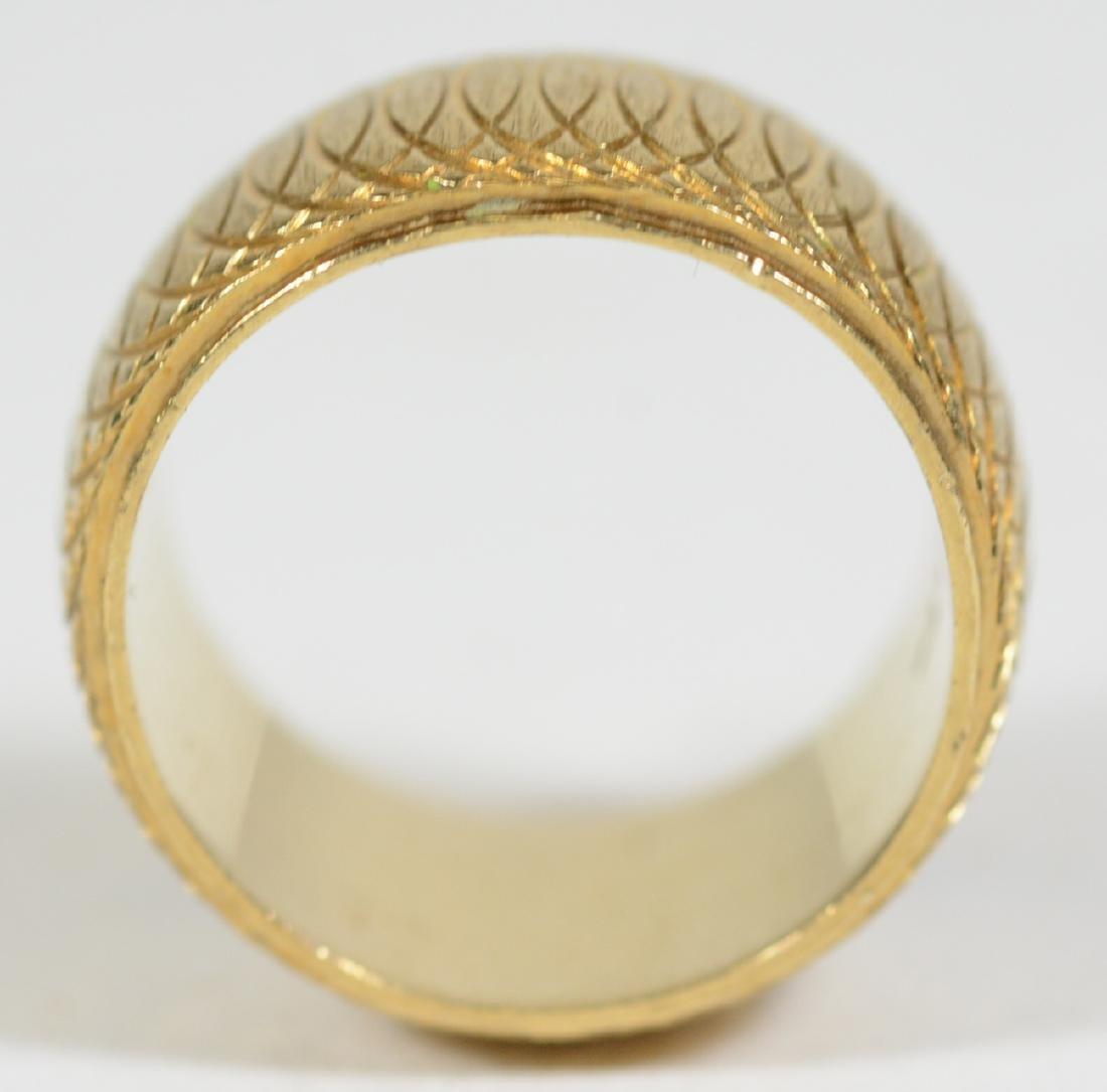 14K Yellow Gold Band Ring - 2