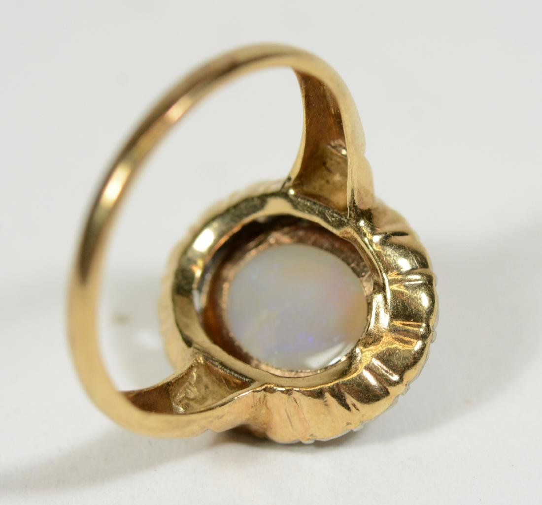 Yellow Gold & Opal Ring - 2