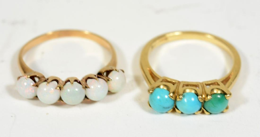 Four Yellow Gold Rings - 3