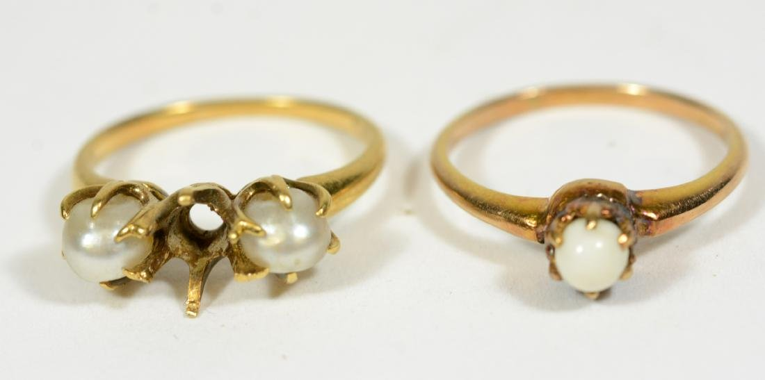 Four Yellow Gold Rings - 5