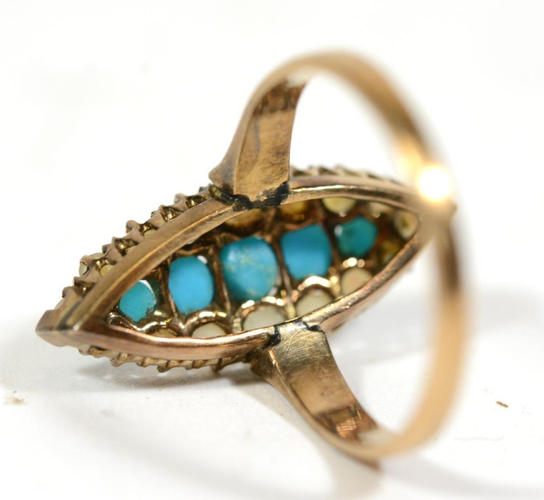 Three Small Gold Rings - 6