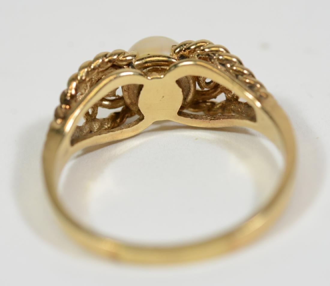 Three Small Gold Rings - 7