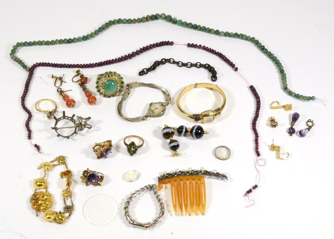 Emerald Beads & Ruby Beads - 2