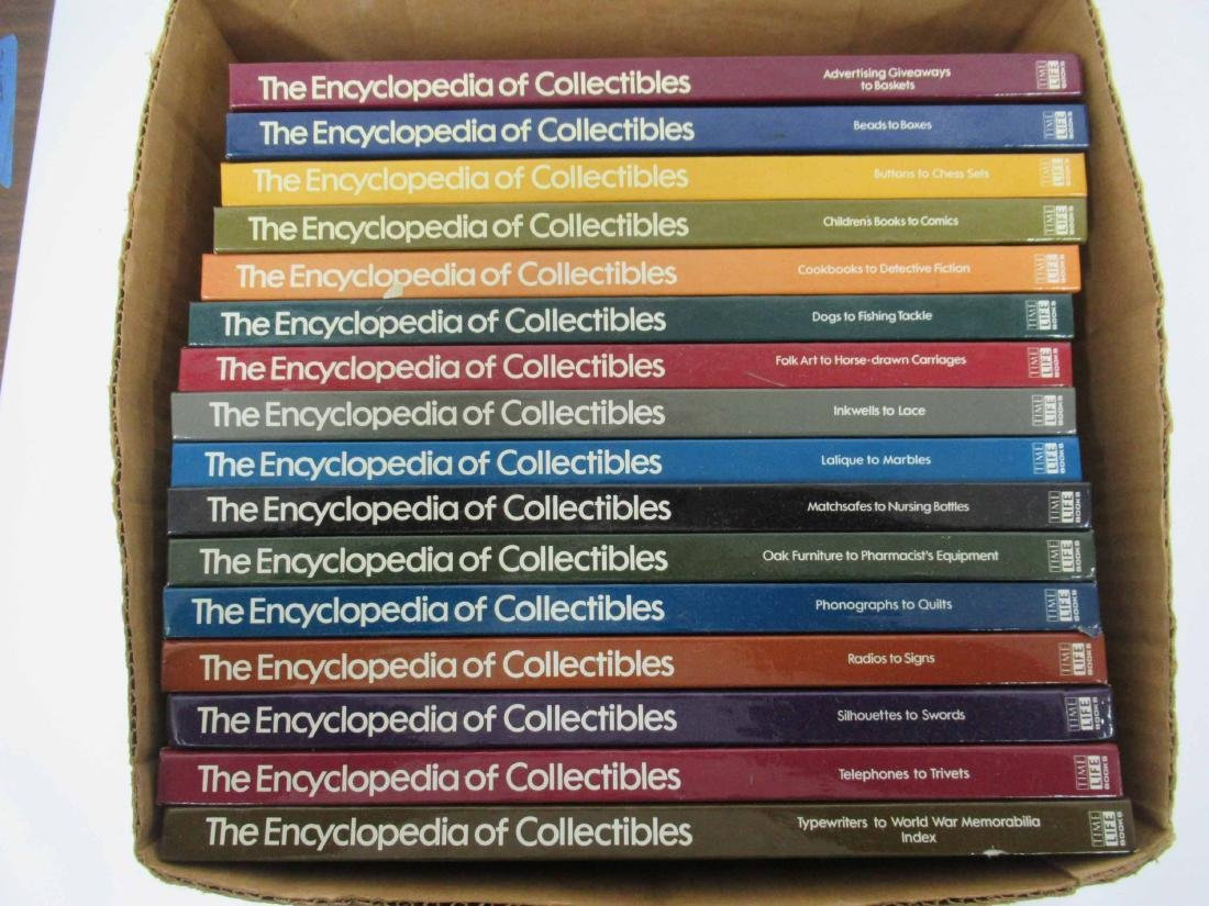 """Set of """"The Encyclopedia of Collectables"""""""