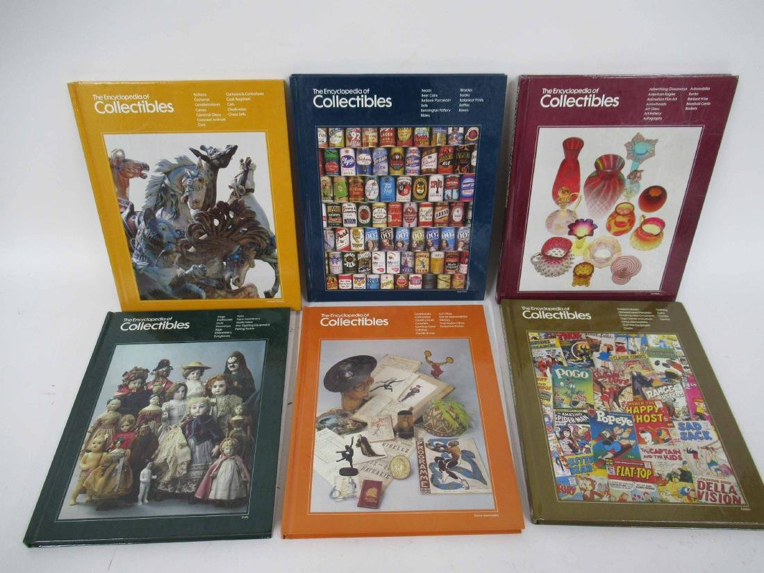 """Set of """"The Encyclopedia of Collectables"""" - 2"""
