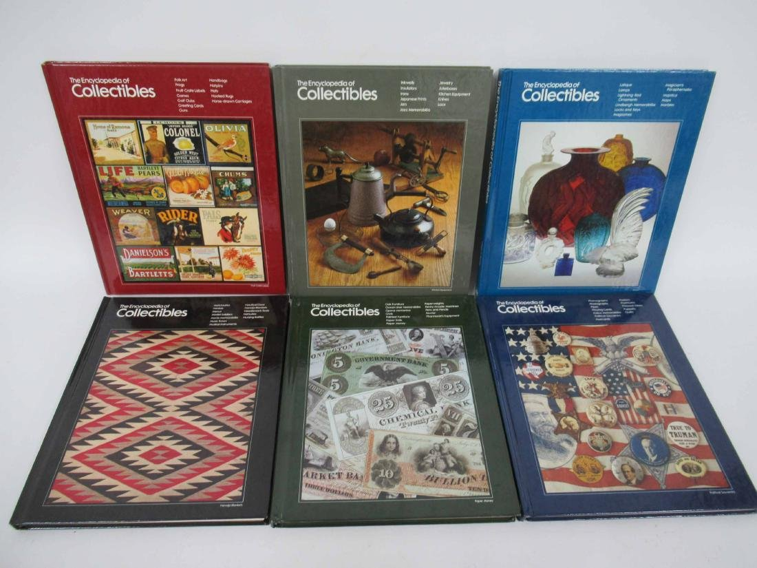 """Set of """"The Encyclopedia of Collectables"""" - 3"""