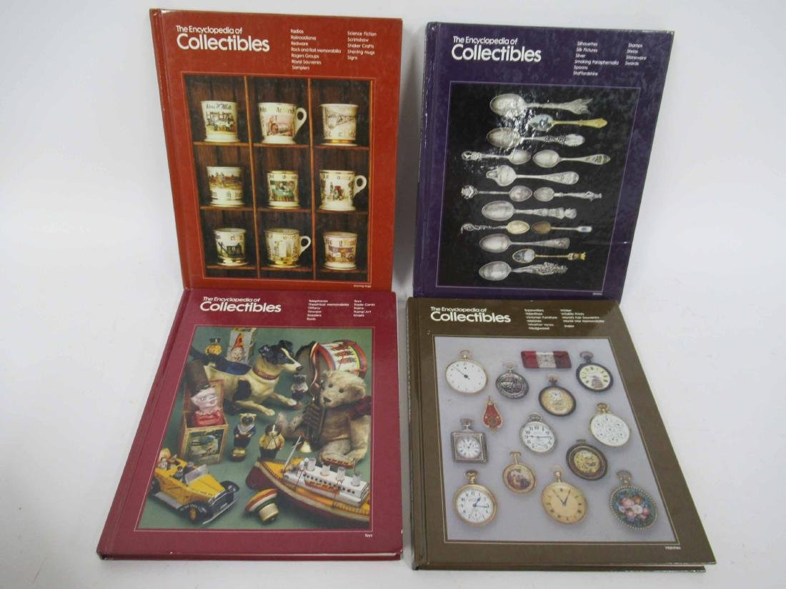 """Set of """"The Encyclopedia of Collectables"""" - 4"""