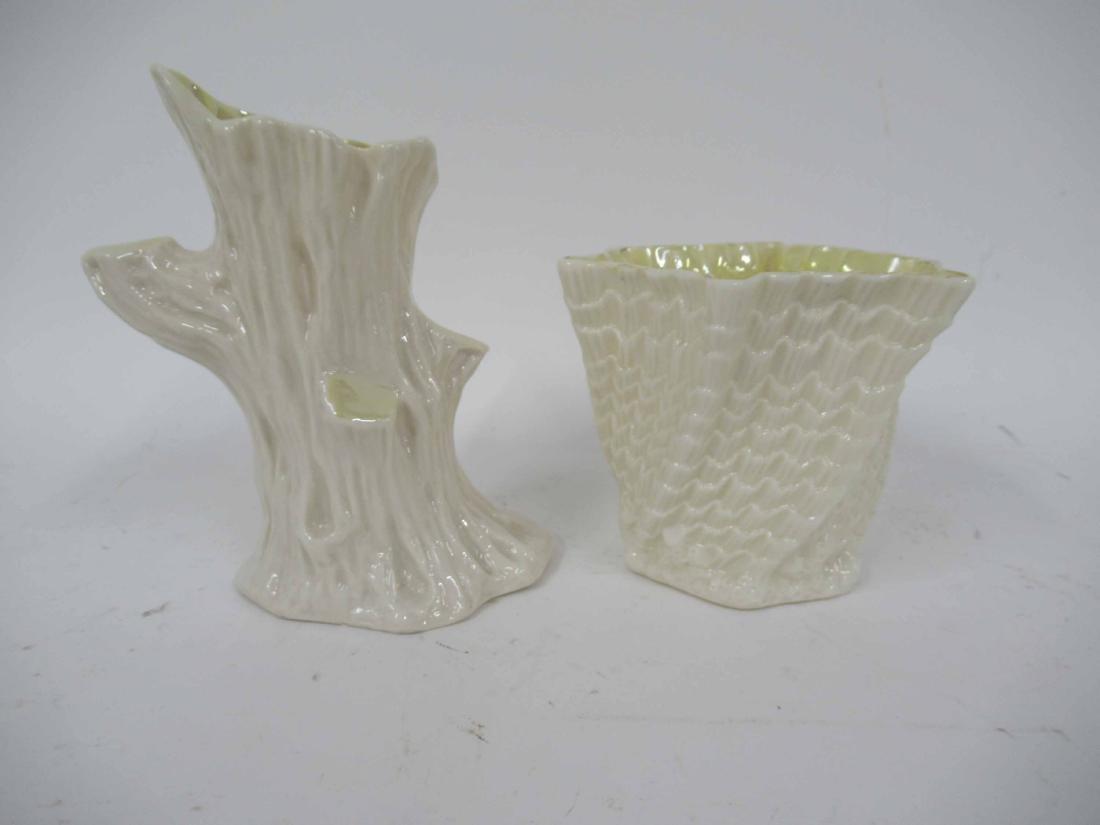 Belleek Shell Form Waste Bowl