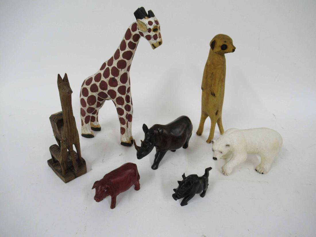 Group of Assorted Animal Figures