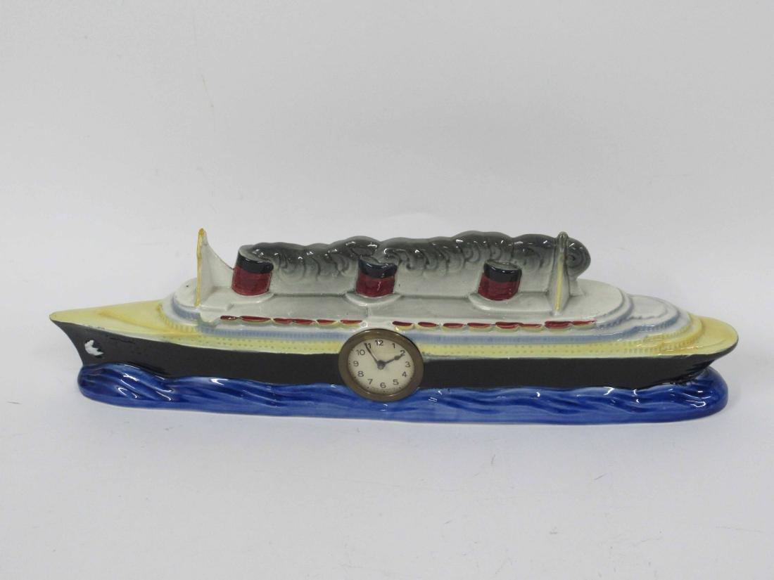 S.S. Normandie Steamship Clock