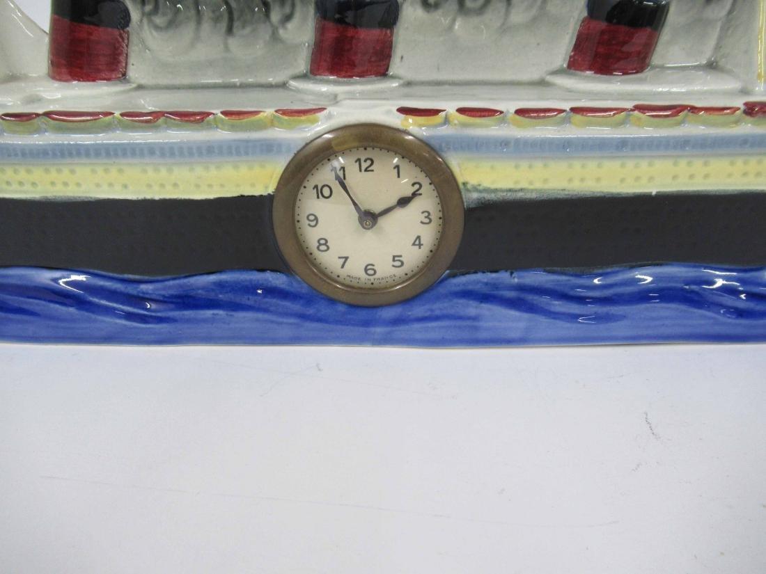 S.S. Normandie Steamship Clock - 2