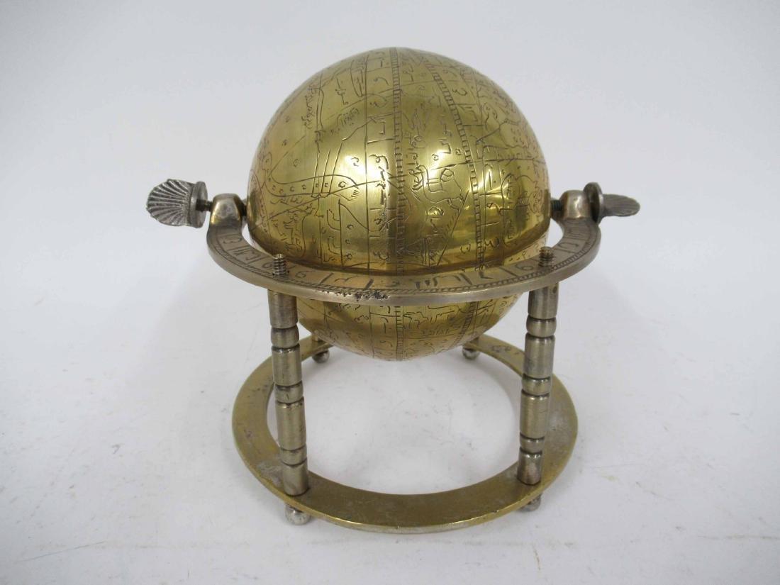 Asian Brass Globe