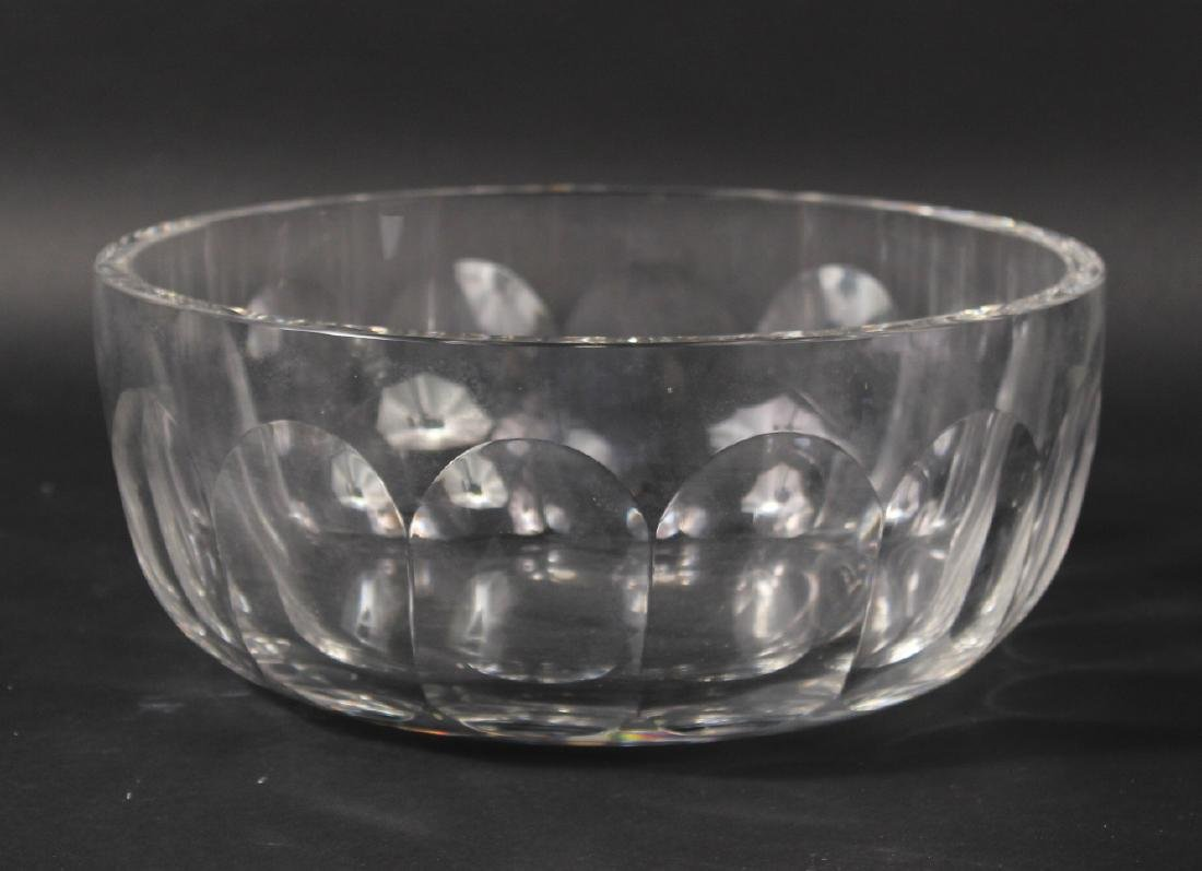 Tiffany Glass Serving Bowl