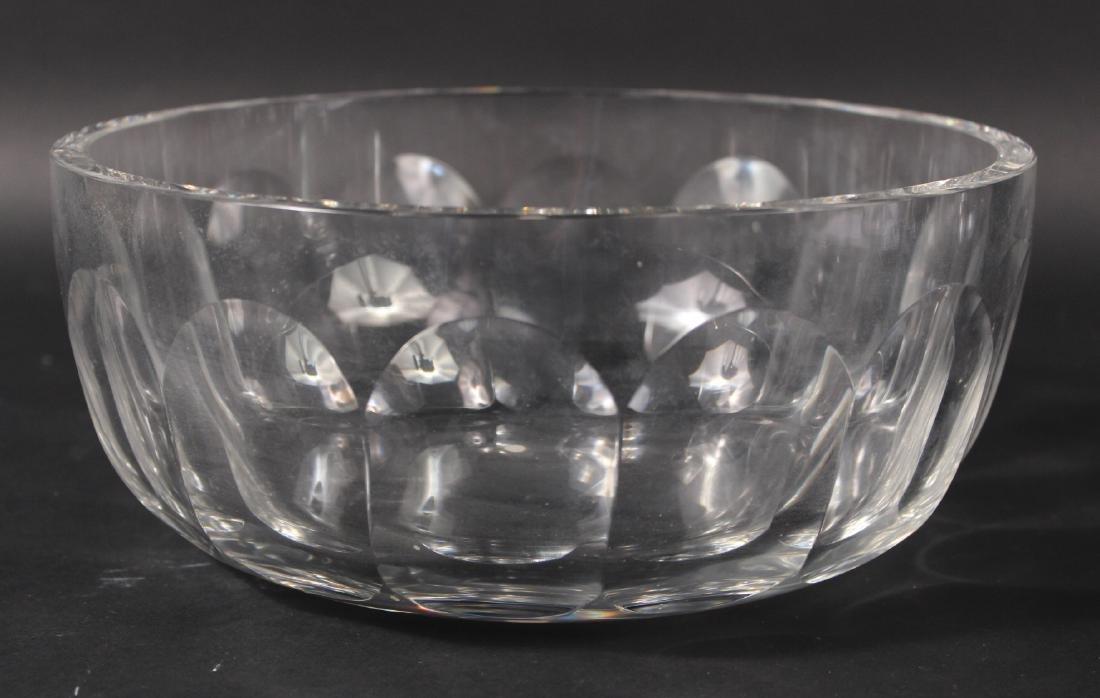 Tiffany Glass Serving Bowl - 2