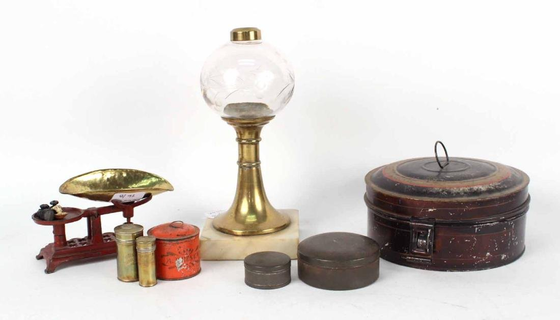 Victorian Fluid Lamp