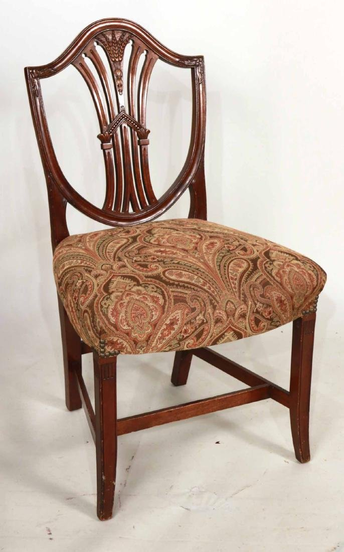 Six Federal Style Mahogany Dining Chairs - 2