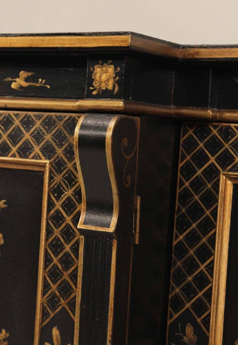 Chinoiserie-Decorated Breakfront Low Chest - 4
