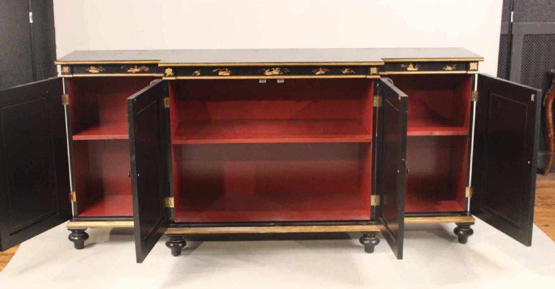 Chinoiserie-Decorated Breakfront Low Chest - 6