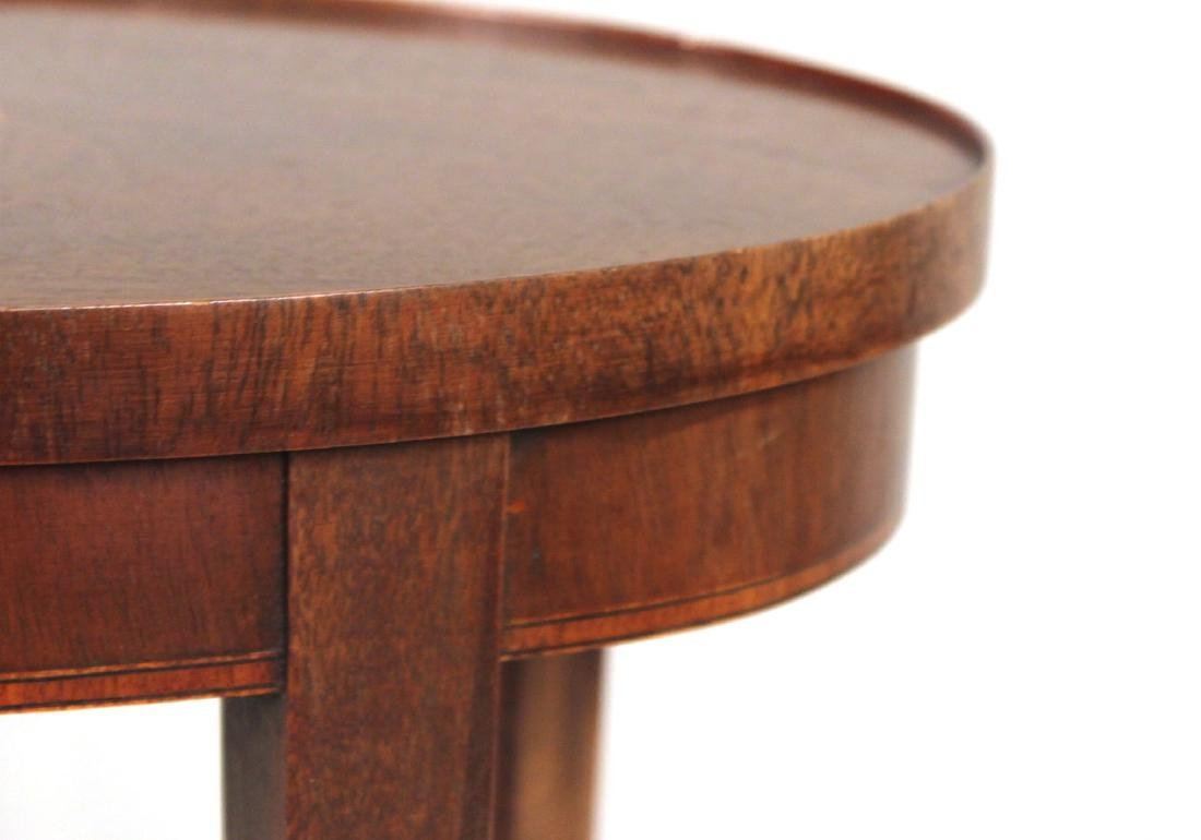 Baker Federal Style Inlaid Side Table - 6