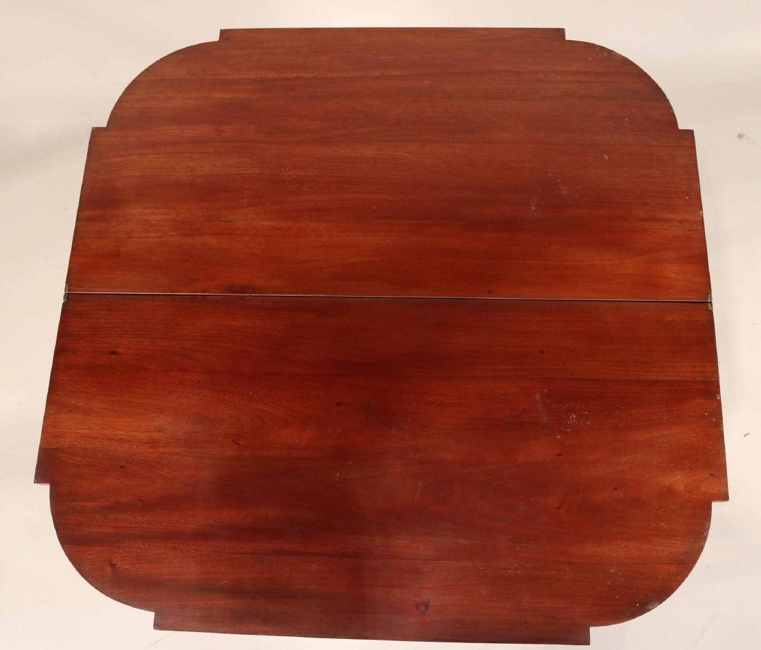 Federal Style Inlaid Mahogany Gate-Leg Card Table - 5