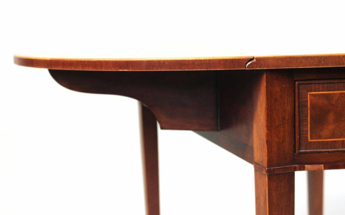 Federal Style Inlaid Mahogany Pembroke Table - 3