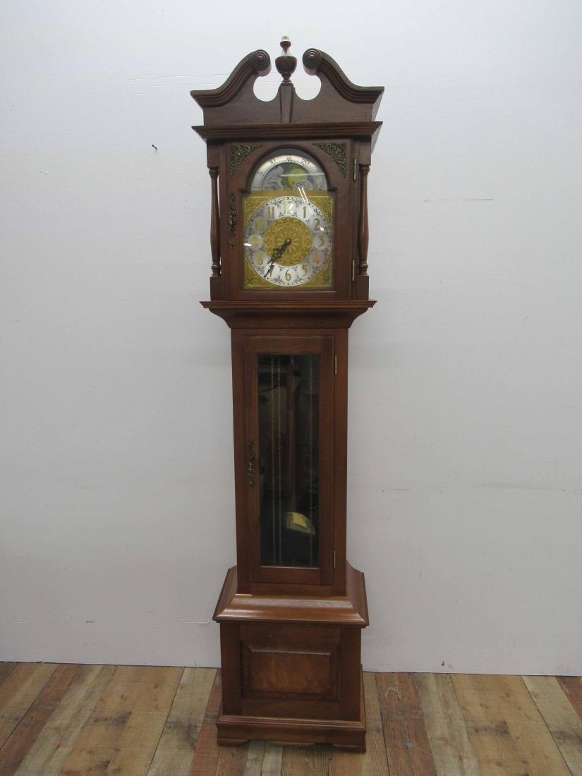 Cherrywood Grandfather's Clock