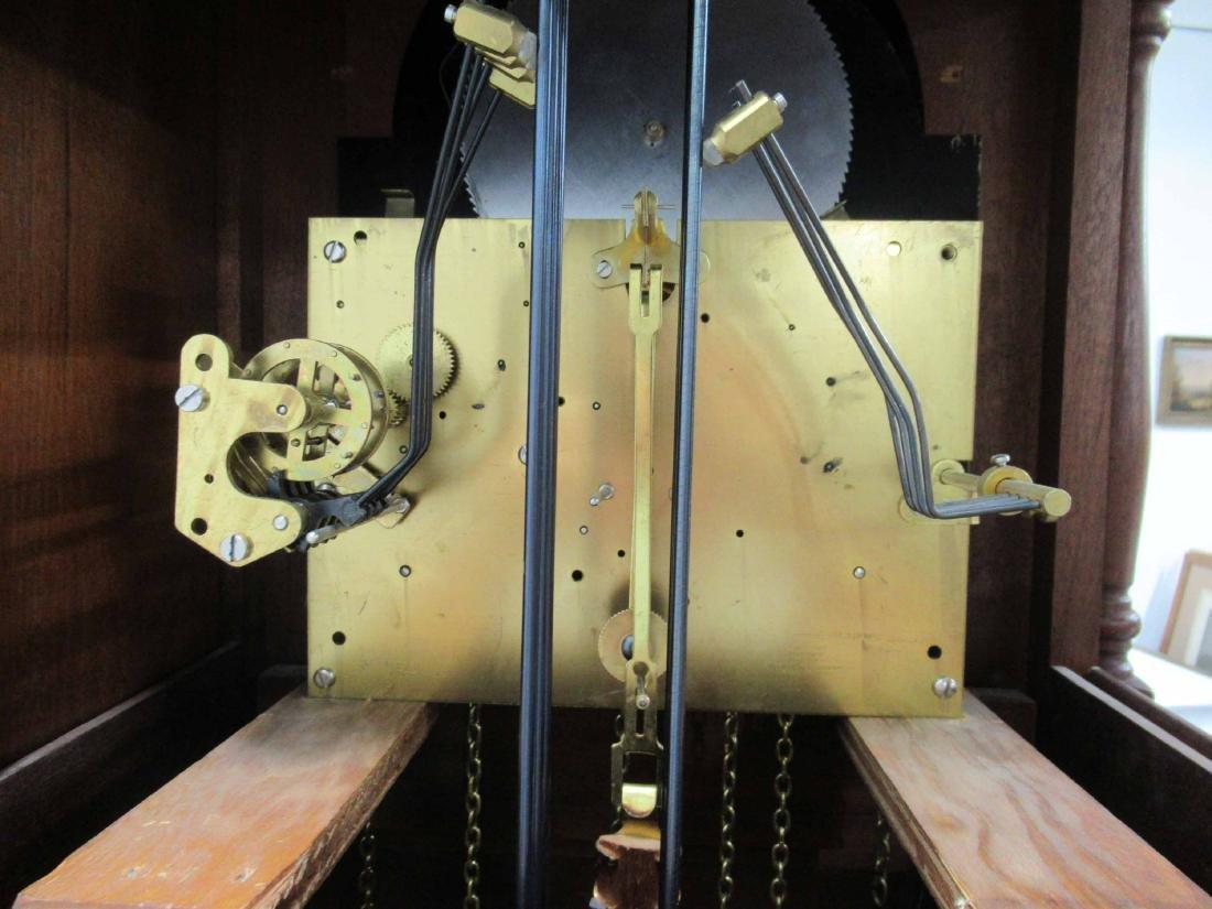 Cherrywood Grandfather's Clock - 6