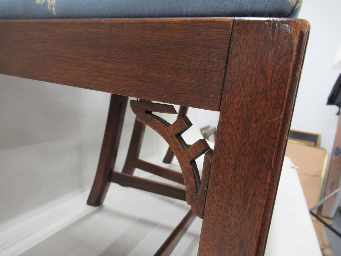 Pair of Chippendale Style Mahogany Side Chairs - 3