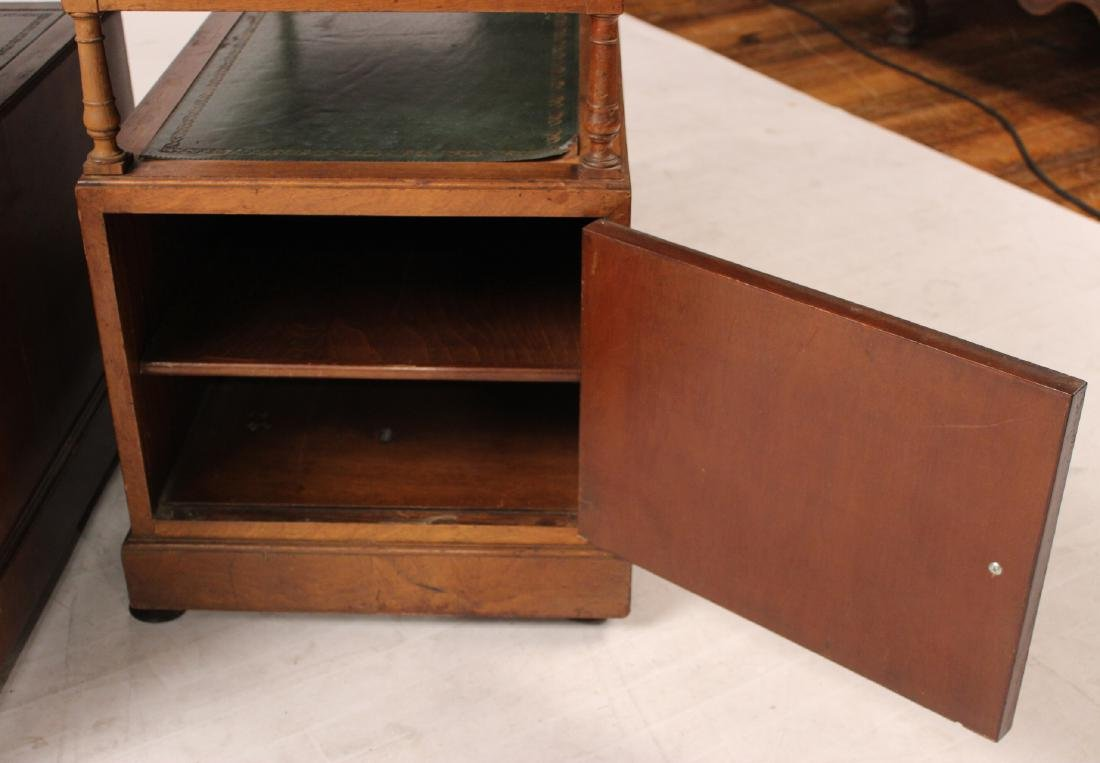 Pair of Regency Style Mahogany Side Cabinets - 4