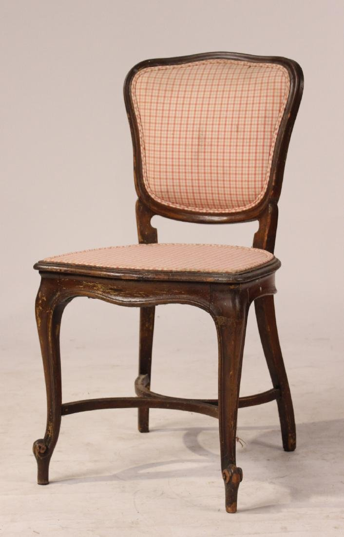 Four Louis XV Style Mahogany Side Chairs - 3