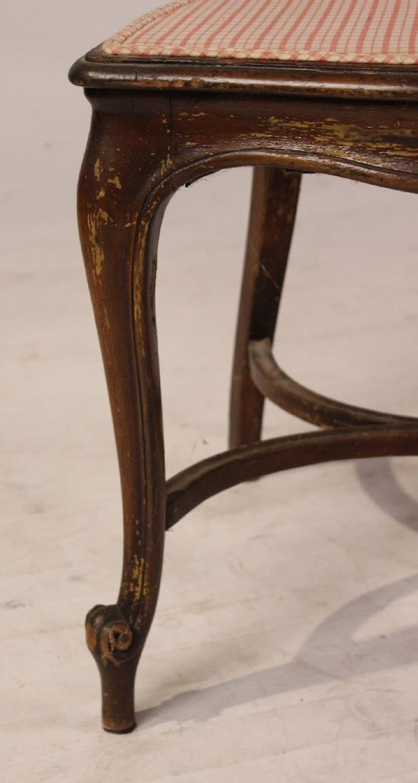 Four Louis XV Style Mahogany Side Chairs - 4