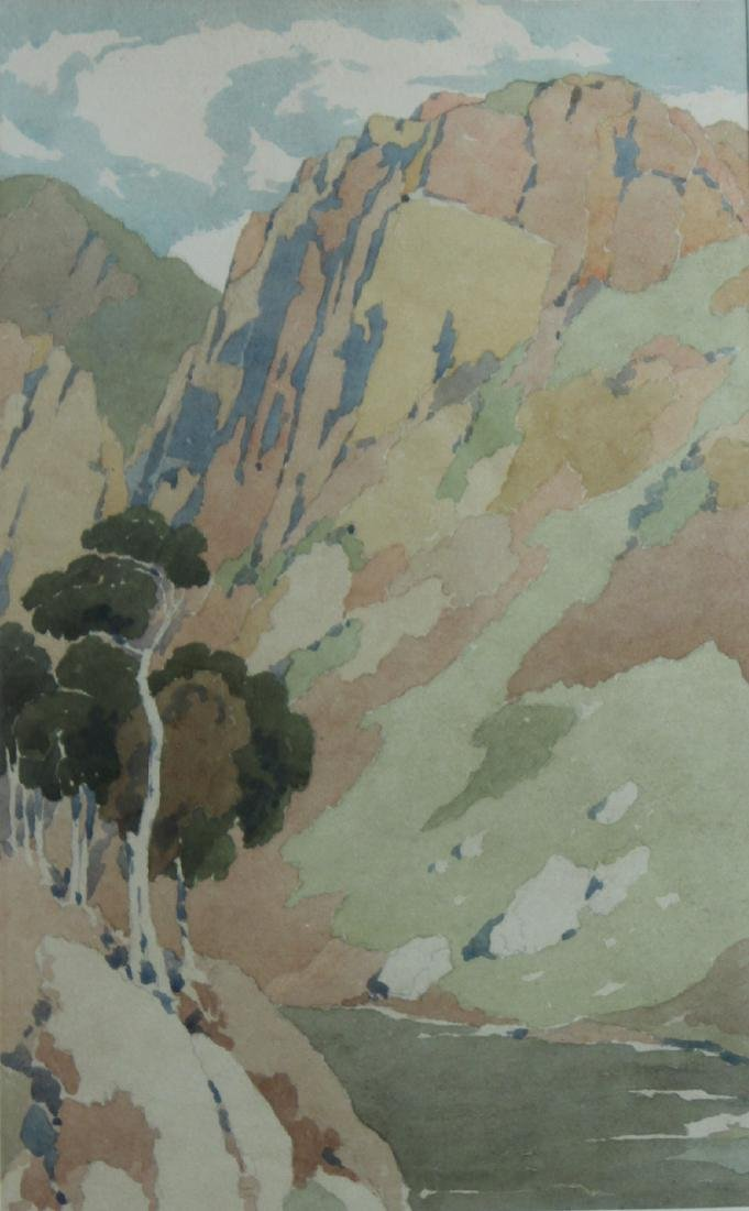 Two Watercolors on Paper, H. Lionel Froomis - 2
