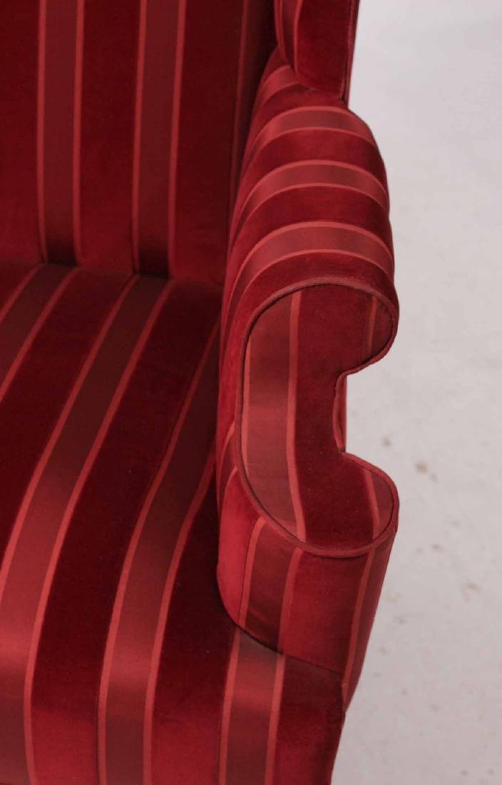 George III Style Mahogany Wing Chair - 2