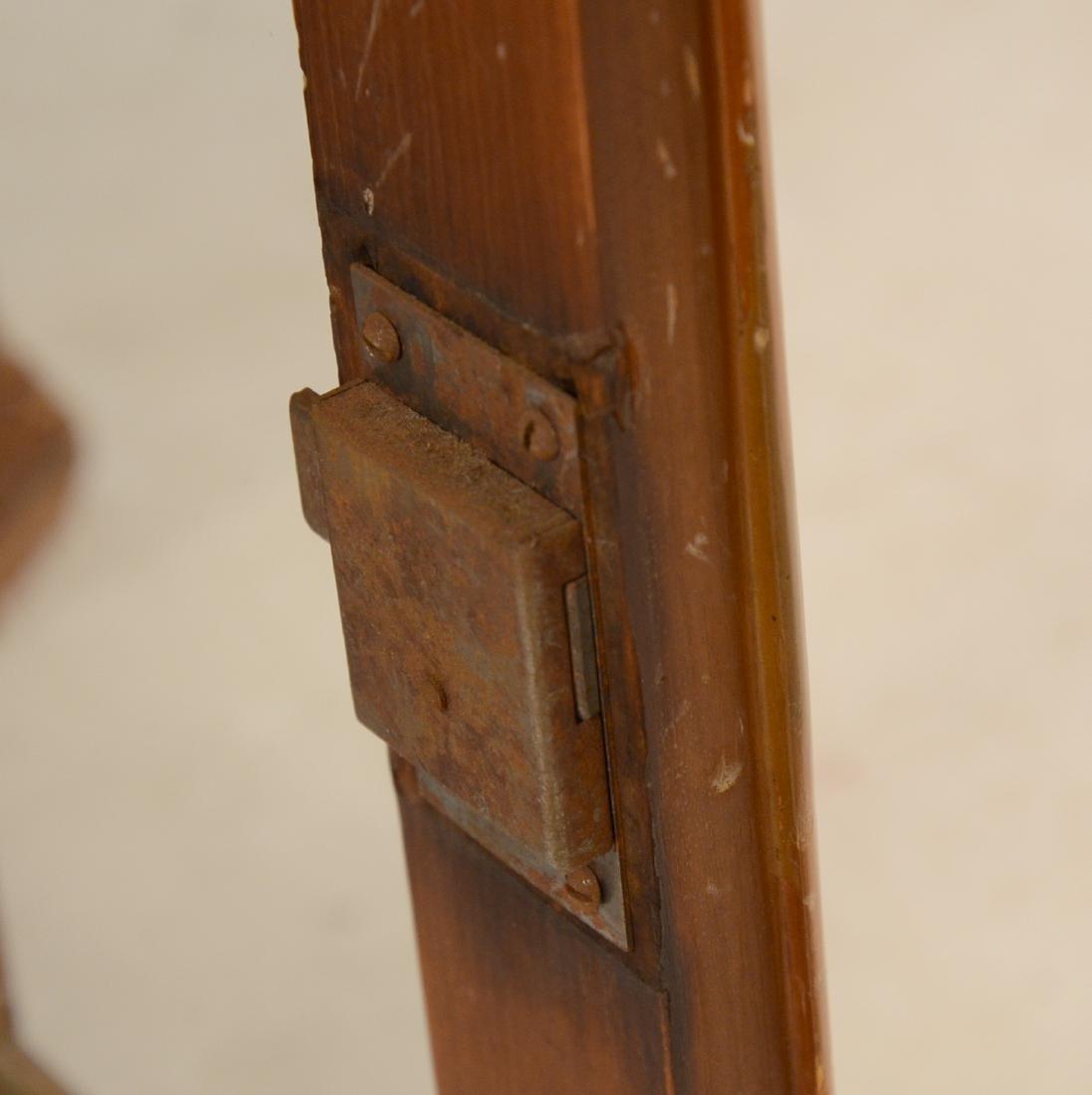 Pine Hanging Corner Cupboard - 4