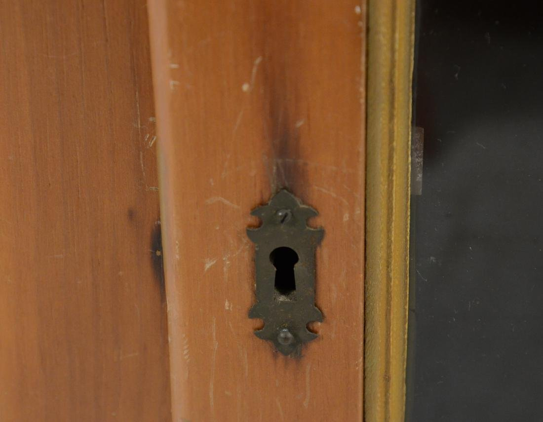 Pine Hanging Corner Cupboard - 8