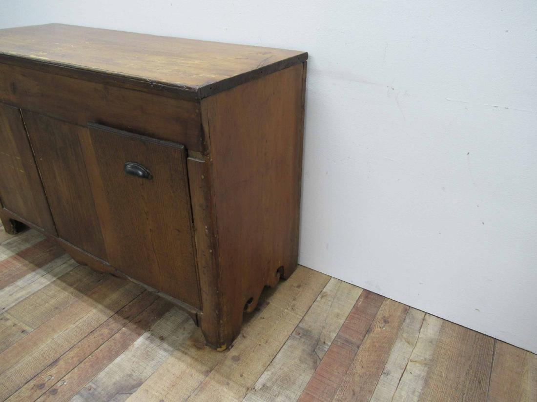 Antique Pine Storage Chest - 2